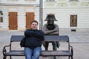 Где-то в Братиславе.